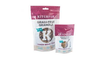 Grain-Free Lemon Berry Chia Granola