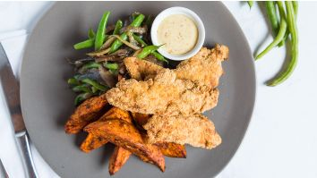 Almond Crusted Chicken Strips