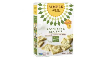 Simple Mills Rosemary Crackers